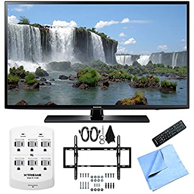 Samsung UN55J6200 - 55-Inch Full HD 1080p 120hz LED HDTV Flat & Tilt Wall Mount Bundle