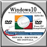 WINDOWS 10 SYSTEM REPAIR & RE-INSTALL...