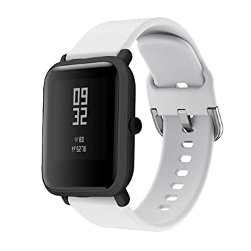 Amazon.com: Novania Compatible with Amazfit Bip Band, 20mm ...