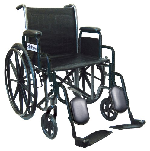 Swing Away Chair Table (Drive Medical Wheelchair with Removable Desk Arms, Swing Away Footrest)