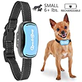 Small Dog Bark Collar For Tiny To Medium Dogs by GoodBoy Rechargeable And Waterproof Vibrating Anti Bark Training Device That Is Smallest & Most Safe On Amazon - No Shock No Spiky Prongs! (2,5+kg)
