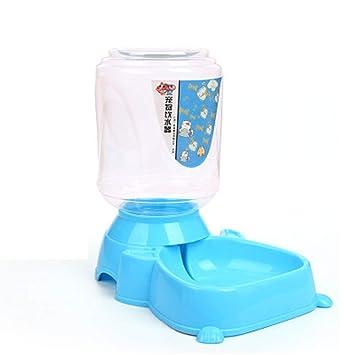 Mazur Fuente automática Bebedero Mascota Gato Comedero para Perros Plato Tazón Comida Dispensador de Agua