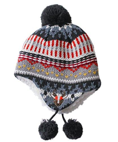 Home prefer infant babies soft sherpa hat reindeer for Home prefer hats