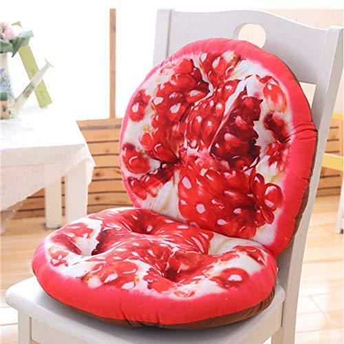 not Summer 3D Fruit Conjoined Cushion Plush Toyss, Soft Sutffed Toys Cojin De Silla De Oficina, Sofa Almohada para Ninas 80 * 40Cm (Gran