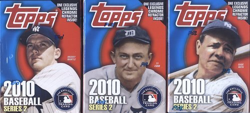 Topps 2010 Series 2 Baseball Cereal Box ()
