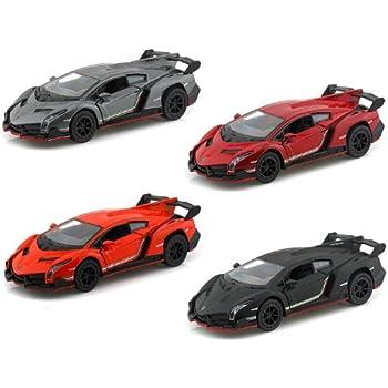 Amazon Com Lamborghini Countach Evoluzione Silver Matt Black