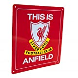 Liverpool FC - ''This is Anfield'' Official Metal Sign
