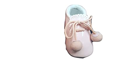 6429bed5b Sevva Unisex Baby Spanish Pompom Soft Sole Booties: Amazon.co.uk: Shoes &  Bags