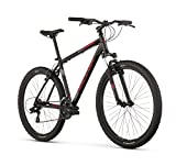 "Raleigh Bikes Talus 2 Mountain Bike, 17"" /Md Frame, Black, 17"" / Medium"