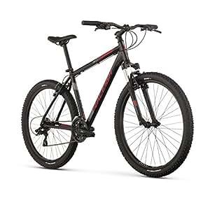 "Raleigh Bikes Talus 2 Mountain Bike, 13"" /Xs Frame, Black, 13"" / X-Small"