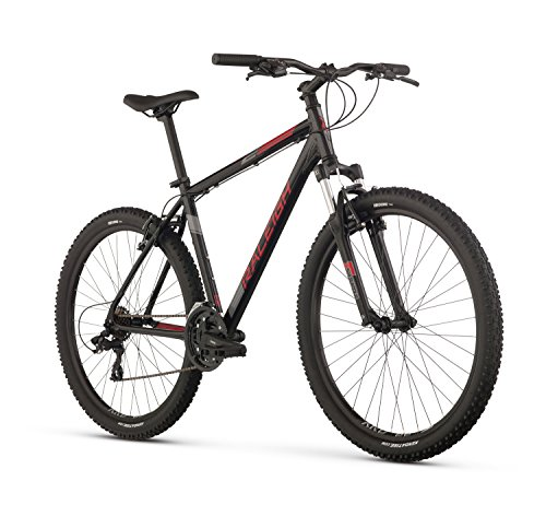 Raleigh Bikes Talus 2 Mountain Bike, 15' /Sm Frame, Black, 15' / Small