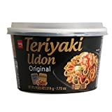 Japanese Style Fresh Cup Noodle Udon [Healthy, Convenient] Easy Cook Bowl in 3 Minutes / 7.72 oz per Meal (Pack of 6) - Teriyaki Flavor
