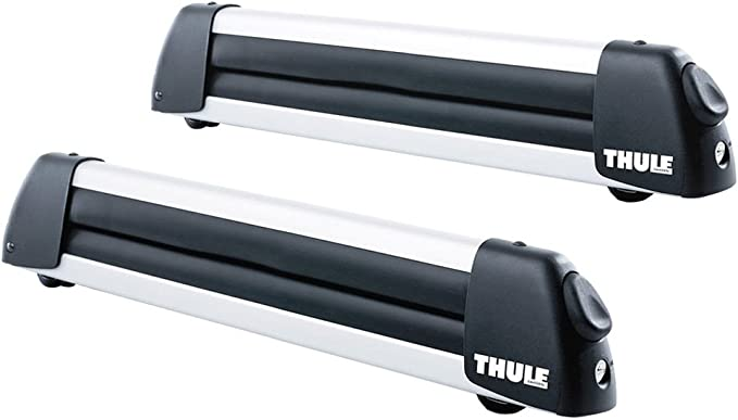 Thule Deluxe Ski Carrier For 3 Ski Or 2 Snowboards Auto