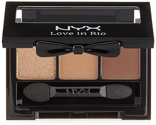 NYX Professional Makeup Love in Rio Eyeshadow Palette, Caban