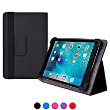 Hisense Sero 7 LT / 7 Pro / 8 / 8 Pro case, COOPER INFINITE ELITE Protective Rugged Shockproof Carrying Universal Portfolio Case Cover Folio Holder with Built-in Stand (Black)