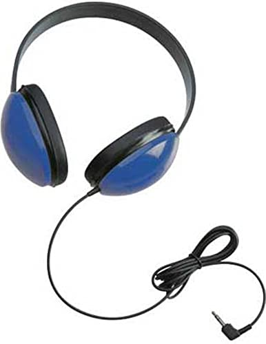 Califone 2800-BL Listening First Headphones in Blue Set of 12