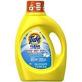 Tide Simply Clean & Fresh Liquid Laundry Detergent, Refreshing Breeze, 100 oz Bottle