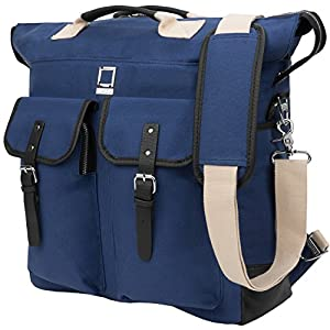 Phlox Backpack + Tote + Shoulder Bag for up to 15.6 inch Laptops and Tablets - Royal Blue