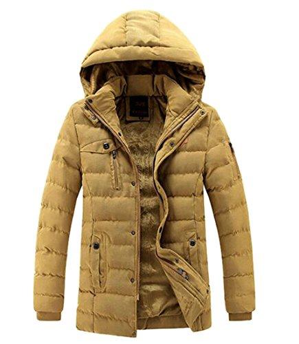 Padded Jacket Casual UK Zipper today Hooded Winter Men Down 1 Warm Thicken Outwear w4vrt4q0