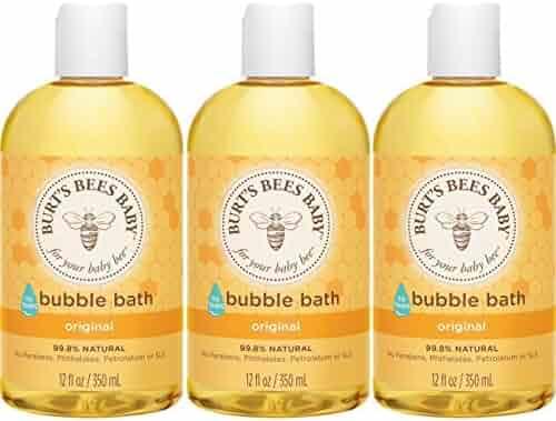 Burt's Bees Baby Bubble Bath, 12 Ounces (Pack of 3)
