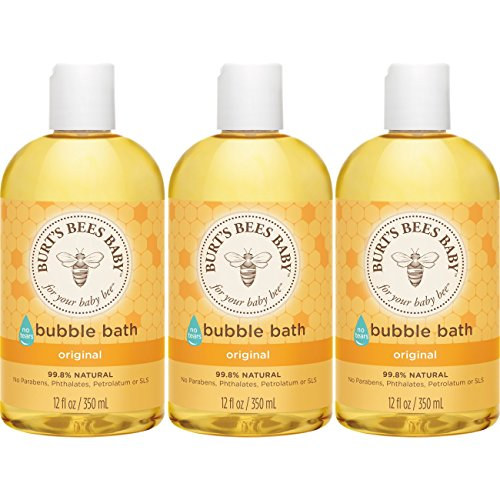 Burt's Bees Baby Bubble Bath, 12 Ounces (Pack of 3)