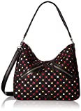 Vera Bradley Vivian Hobo Bag Cotton 2, Havana Dots