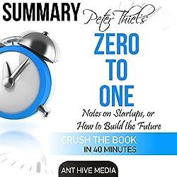 Peter Theil's Zero to One