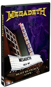Megadeth Rust In Peace Cd Amazon.com: Megadeth: ...