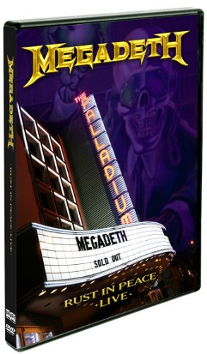 DVD : Megadeth - Rust in Peace Live (DVD)