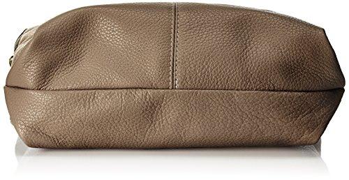 Bags4Less - Yenna, Borse a spalla Donna Marrone (Taupe)