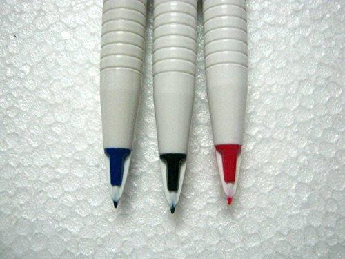 New Original Set of 3 Pentel Japan Stylo Fountain Pen Blue, Red & Black - India Photo #2