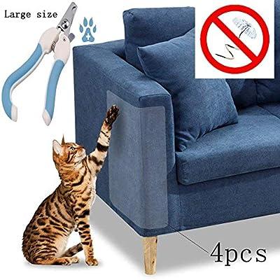 Amazon.com: Maimuxi Protector de arañazos para gatos (juego ...