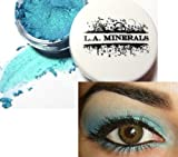 L.A. Minerals Bright Blue Iridescent Shimmer Mineral Eye Shadow - Britney Blues