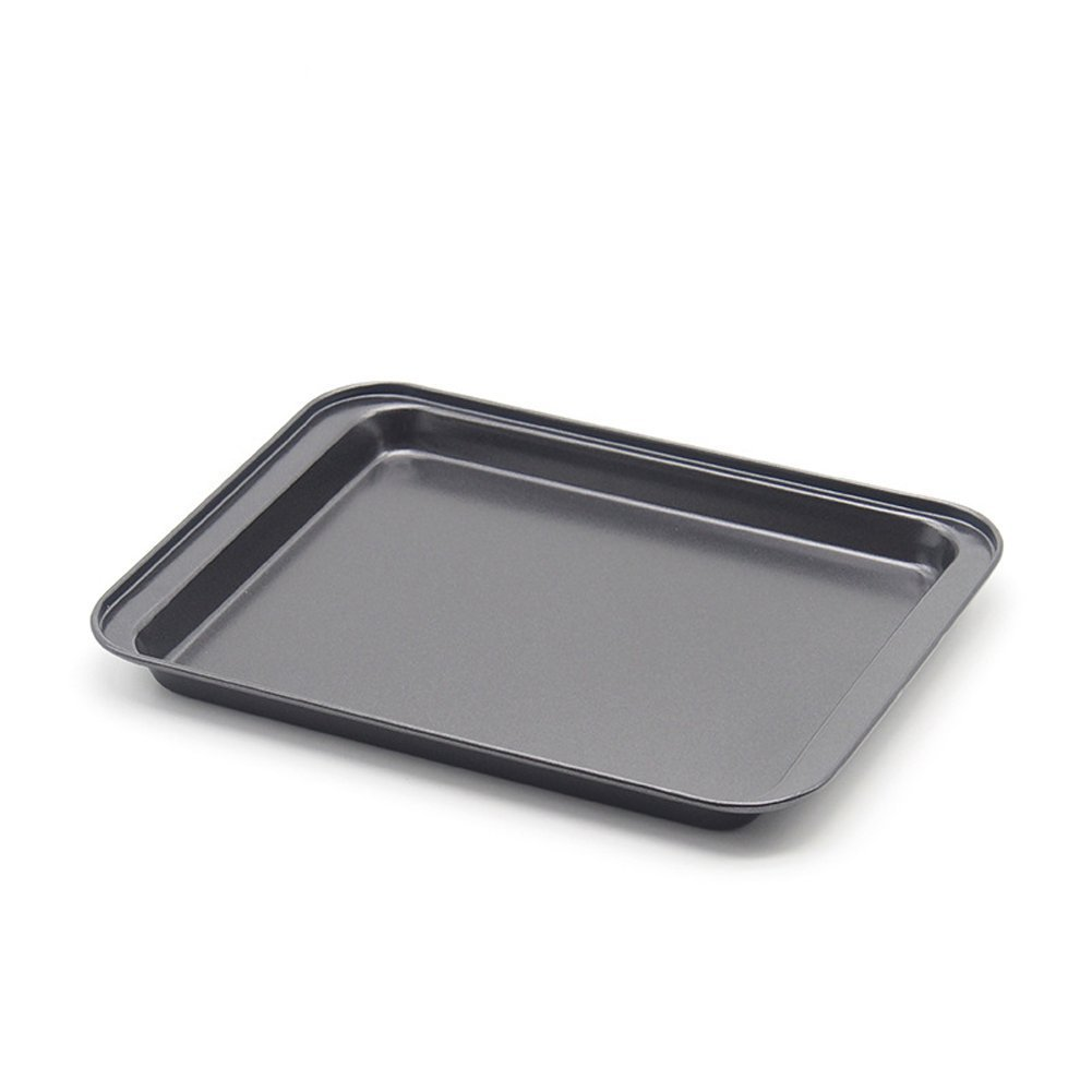 Baking Sheets Nonstick Set- SS&CC Professional 8 Inch Nonstick Sheet Pan Set for Baking, Carbon Steel Baking Pans Cookie Sheets
