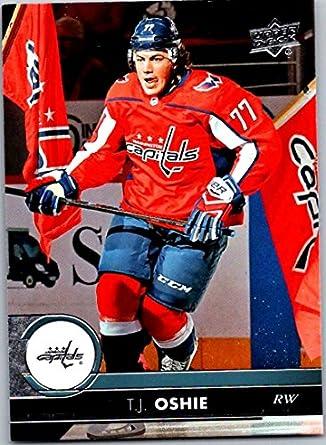 2017-18 Upper Deck Series 2  438 T.J. Oshie Washington Capitals Hockey Card 1094bbd93