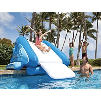 Amazoncom INTEX Kool Splash Inflatable Swimming Pool Water Slide