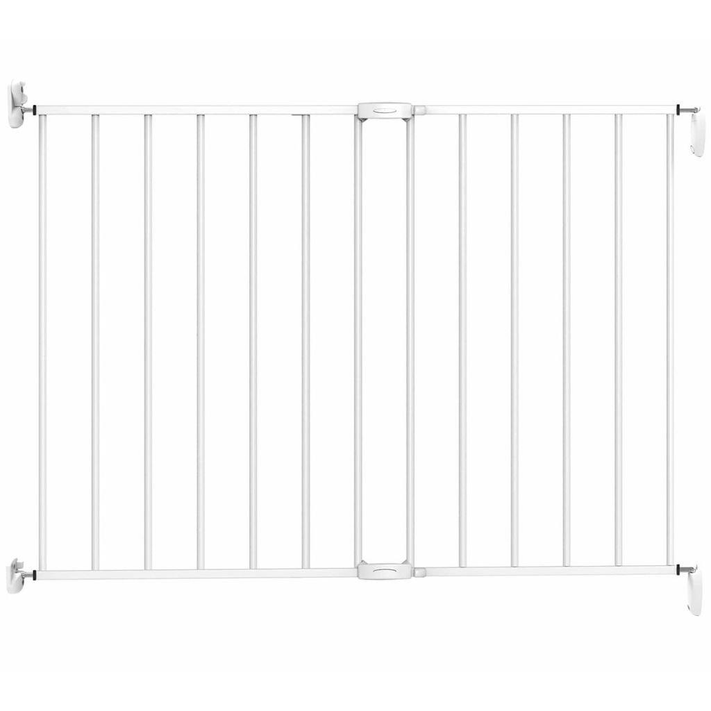 color blanco /102/cm /31246/a rejilla de protecci/ón para puerta rejilla de protecci/ón de metal ampliable pared montaje ajustable Ancho de 62/ Noma/