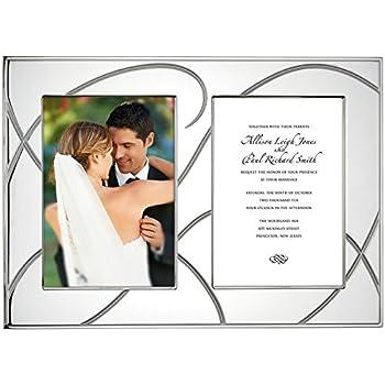 This Item Lenox Bridal Adorn Double Invitation Frame