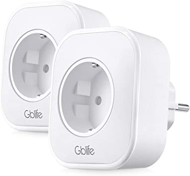 Enchufe Inteligente Wifi, GBlife Enchufe de Una Toma con USB, Control Remoto/Mando de Voz, con Interruptor y Temporizador, Compatible con Smart Life/Google Home/Amazon Alexa (2 Packs, sin LED): Amazon.es: Bricolaje y herramientas