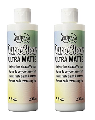 (Deco Art Americana DuraClear Varnishes, 8-Ounce, Ultra Matte (2 Pack))