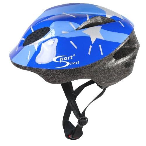 Sport Direct Casque vélo enfant, 11 ouies d aération, bleu  48-52 cm ... 5324cd1e5604