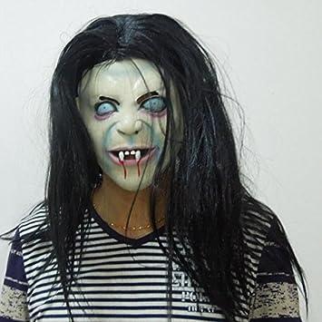 Caseroye 貞子 貞子のマスク 怖いマスク 怖すぎるお面 リングの怖い役割 男女