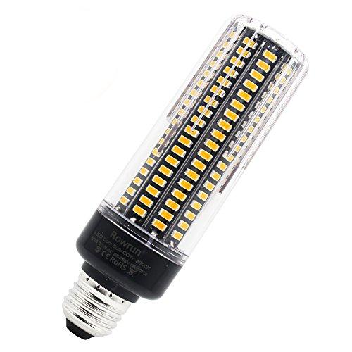 20W LED Corn Light Bulb, E26/E27 Led Light Bulb 200 Watts Equivalent Warm White 3000K 189Pcs 5037SMD 110V 1600lm for Indoor/Outdoor Floodlight by Rowrun