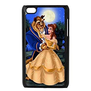 Custom Beauty And Beast Back Cover Case for ipod Touch 4 JNIPOD4-608