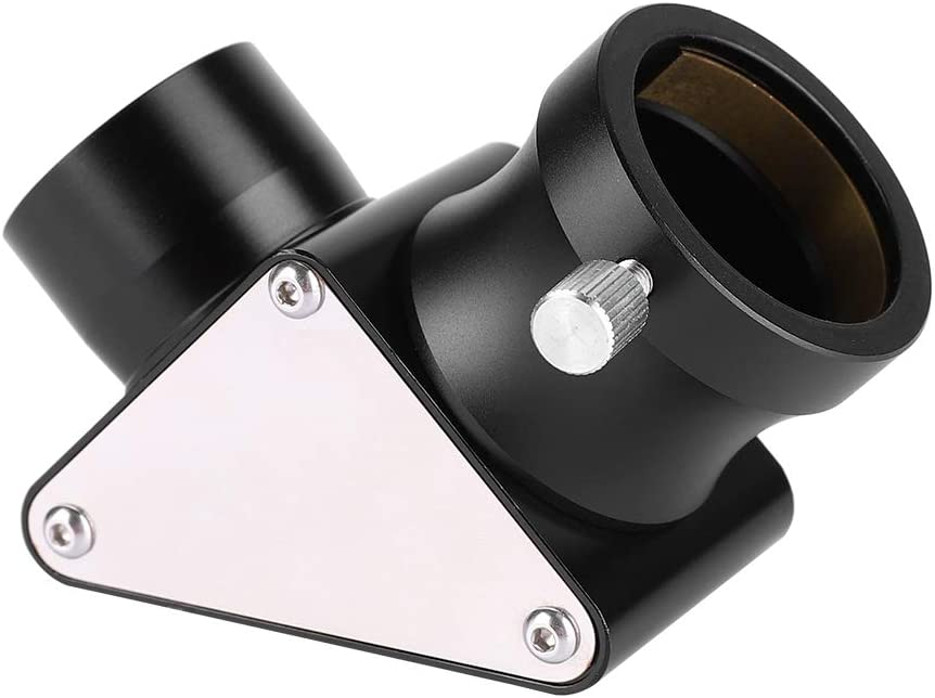 Oumij Diagonal Mirror 1.25inch 90-Deg Dielectric Mirror Diagonal for Telescope Erect Image Prism