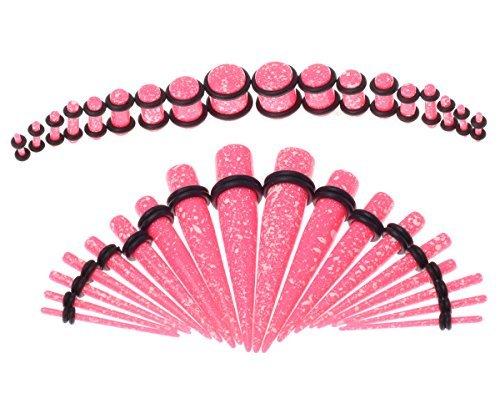 Pink Acrylic Plug - 2