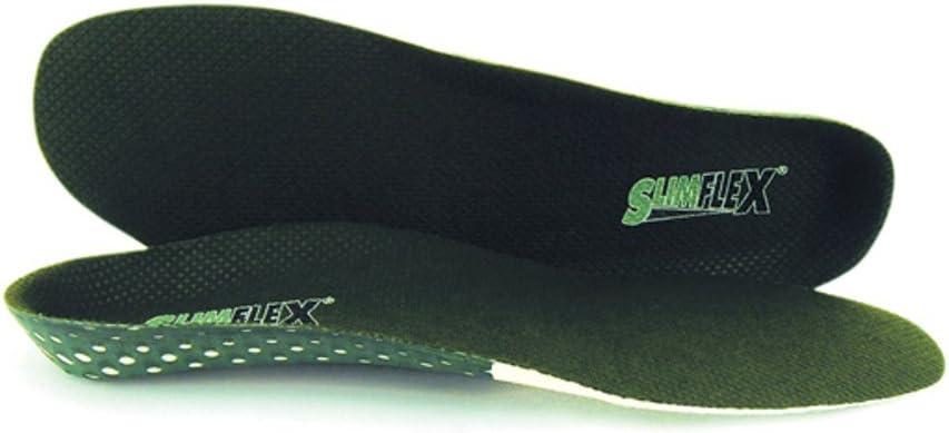 UK 8 Slimflex Full Length Standard Orthotic Insoles Green EU 42
