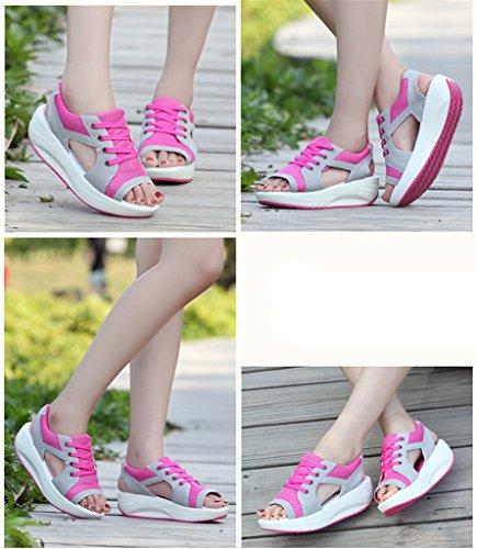 Chaussures Jds® Peep Rose Fortuning's Respirabilité Été Femmes Sport toe De aw6YqBg