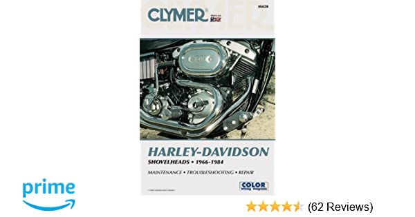 Amazon.com: Clymer Harley-Davidson Shovelheads 1966-1984 ... on