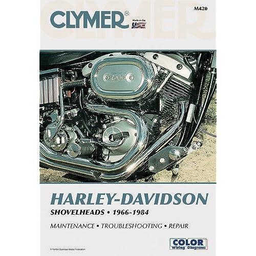 clymer harley davidson shovelheads 1966 1984 service repair rh amazon com